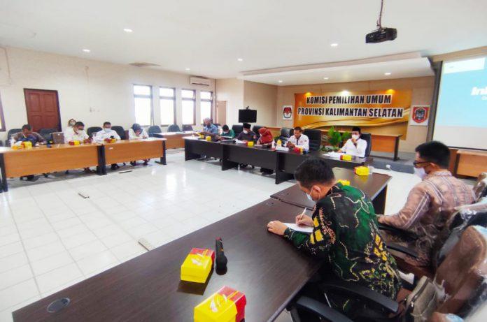 KPU Kalsel Tunggu Instruksi Pusat Untuk PAW Abdul Karim Pasca Dipecat Sebagai Komisioner KPU Banjar