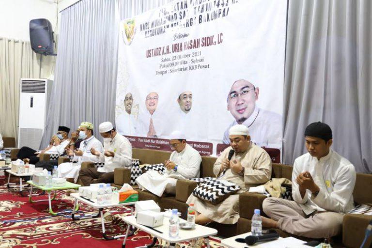 Peringatan Maulid Nabi, KKB Pusat Berharap Bisa Bangkitkan semangat Pemuda